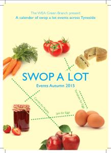 Swop A Lot leaflet